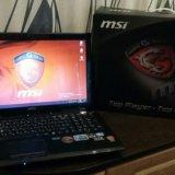 Игровой ноутбук msi steelseries. Фото 2.