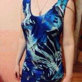 Платье короткое с открытой спиной. Фото 1.
