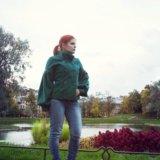 Пальто зеленое soda. Фото 1. Санкт-Петербург.
