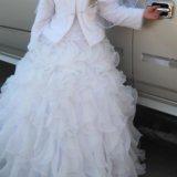 Пышное свадебное платье. Фото 1.