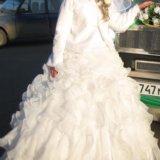 Пышное свадебное платье. Фото 4.