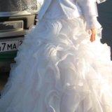 Пышное свадебное платье. Фото 2.