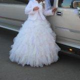 Пышное свадебное платье. Фото 3.
