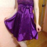 Вечернее платье на выпускной. Фото 1.
