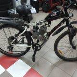 Велосипед  мотовелосипед трек. Фото 1.