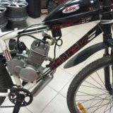 Велосипед  мотовелосипед трек. Фото 2.