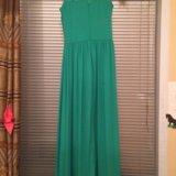 Платье зеленое, вечернее. Фото 4. Курск.