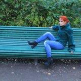Пальто зеленое soda. Фото 2. Санкт-Петербург.