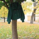 Пальто зеленое soda. Фото 3. Санкт-Петербург.