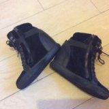 Сникерсы ботинки полусапожки женские. Фото 3.