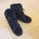 Сникерсы ботинки полусапожки женские. Фото 4.