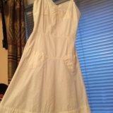 Платье белое. Фото 1.