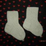 Новые носочки. белые.. Фото 1.