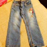 Джинсовые брюки 300р.и юбка 500р. Фото 2.