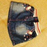 Джинсовые брюки 300р.и юбка 500р. Фото 1.
