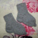 Новые носочки. шерсть, ангорка.. Фото 1.