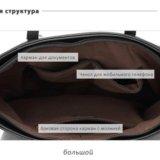 Сумка женская и сумочки (набор из 3 шт.). Фото 2. Москва.