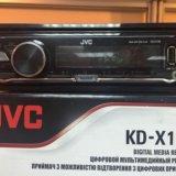 Магнитола kd-x135. Фото 3.