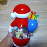 Дед мороз с игрушками. Фото 2. Михайловск.