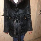 Новая меховая двухсторонняя куртка. Фото 1. Санкт-Петербург.