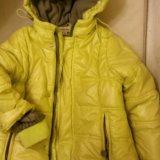 Курточки, пальто р.98-110. Фото 1. Салехард.