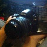 Зеркальный фотоаппарат nikon d3000. Фото 1. Барнаул.