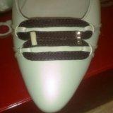 Туфли mascotte из натуральной кожи. Фото 4.