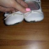 Туфли белые 16 см. Фото 2. Санкт-Петербург.