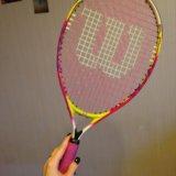 Детская теннисная ракетка wilson. Фото 2.