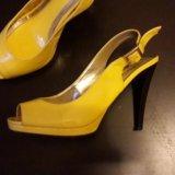 Туфли женские желтые. Фото 1. Москва.