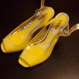 Туфли женские желтые. Фото 2. Москва.