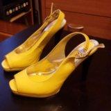 Туфли женские желтые. Фото 3. Москва.