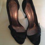 Элегантные, замшевые туфли-босоножки lucca italy. Фото 1.