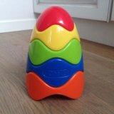 Oball пирамидка развивающая игрушка с 3 мес. Фото 1.