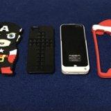 Iphone 5, 5s, se. чехол-зарядка 4200 мач. Фото 1. Тюмень.