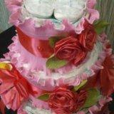 Торт из памперсов. Фото 1. Челябинск.