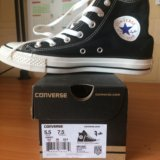 Новые converse all star black. Фото 1.