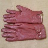 Перчатки кожа по 100₽. Фото 1.