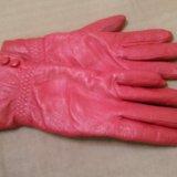 Перчатки кожа по 100₽. Фото 3.