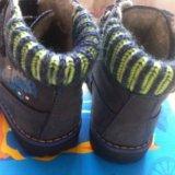 Ботинки демисезонные с утеплением котофей 21размер. Фото 2. Котельники.