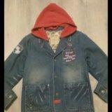 Модный пиджачек 122 см. Фото 1.
