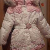 Зимний костюм на девочку. Фото 1.