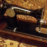 Швейная машинка union (ссср) в раб.сост. Фото 1.