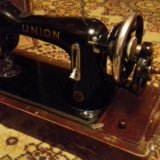 Швейная машинка union (ссср) в раб.сост. Фото 3.