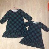Новые платья мама+дочка. Фото 1.