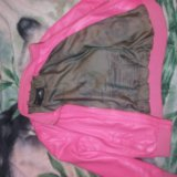 Кожаная куртка детская. Фото 1. Тольятти.