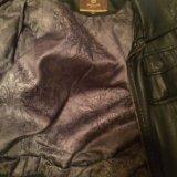Куртка из натуральной кожи. Фото 2. Новосибирск.
