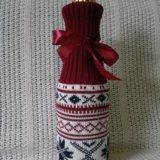 Чехол на бутылку новогодний. Фото 2.