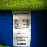 Флисовая поддева quechua р140. Фото 3.