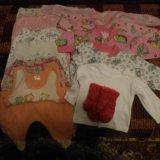 Пакет одежды на девочку 2-6 мес. Фото 2.